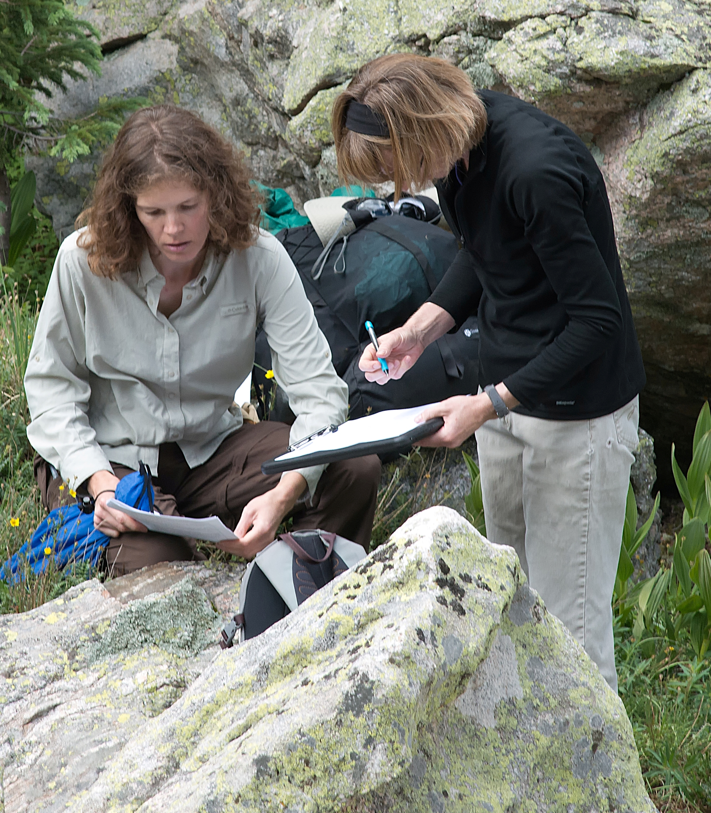 Photo: Sally Thomson Photography. Citizen scientists in training, 2012.