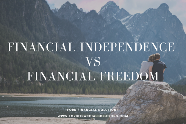 financial freedom vs financial independence
