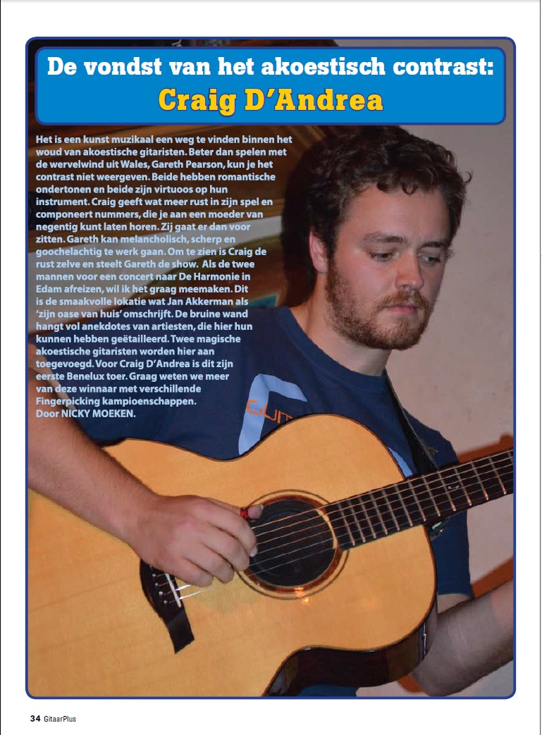 Dutch Guitar Magazine - 2011