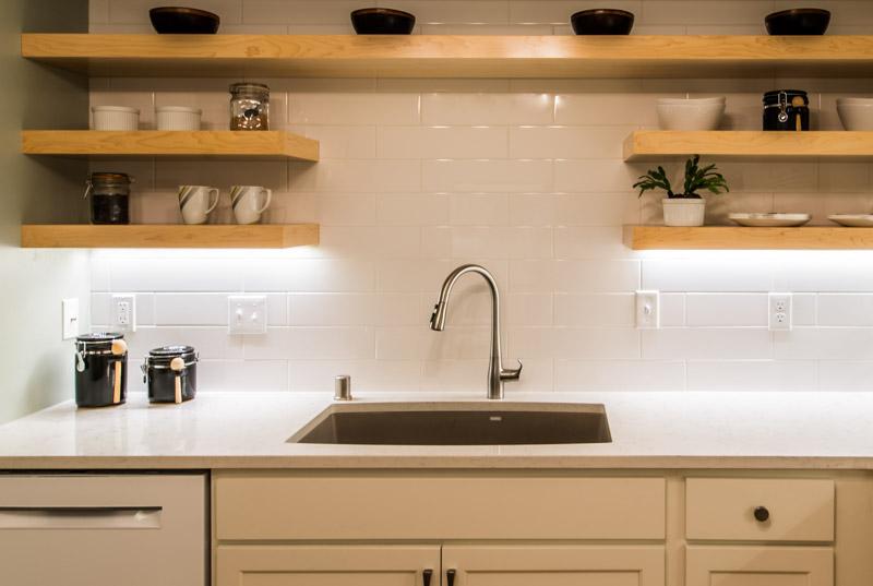 MKE Design Build - clean kitchen  building renovation. www.mkedesignbuild.com