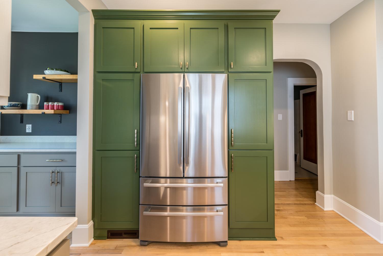 MKE Design Build - bold and bright  kitchen renovation. www.mkedesignbuild.com