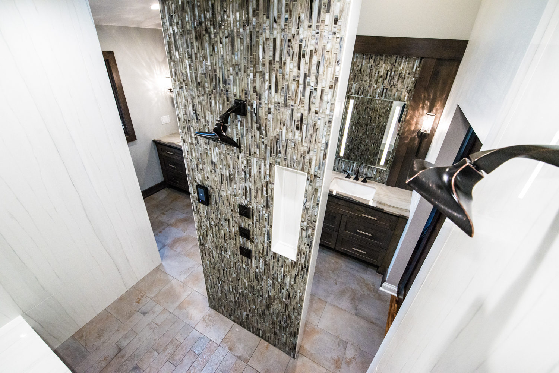 Ancora Stone and Tile  master bathroom renovation. www.ancorastone.com