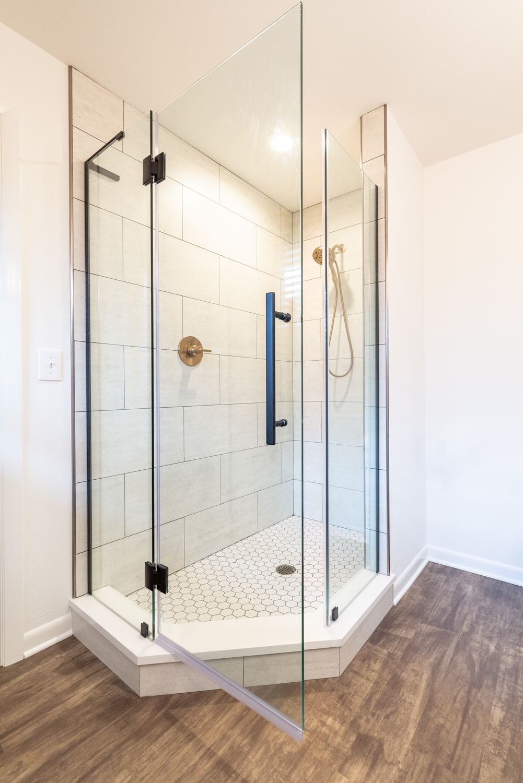 MKE Design Build  bathroom renovation. www.mkedesignbuild.com