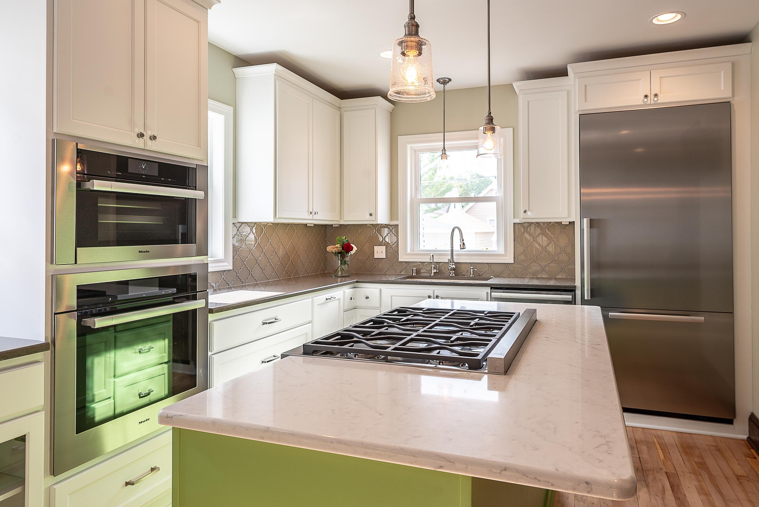 MKE Design Build - fresh and clean  kitchen renovation. www.mkedesignbuild.com