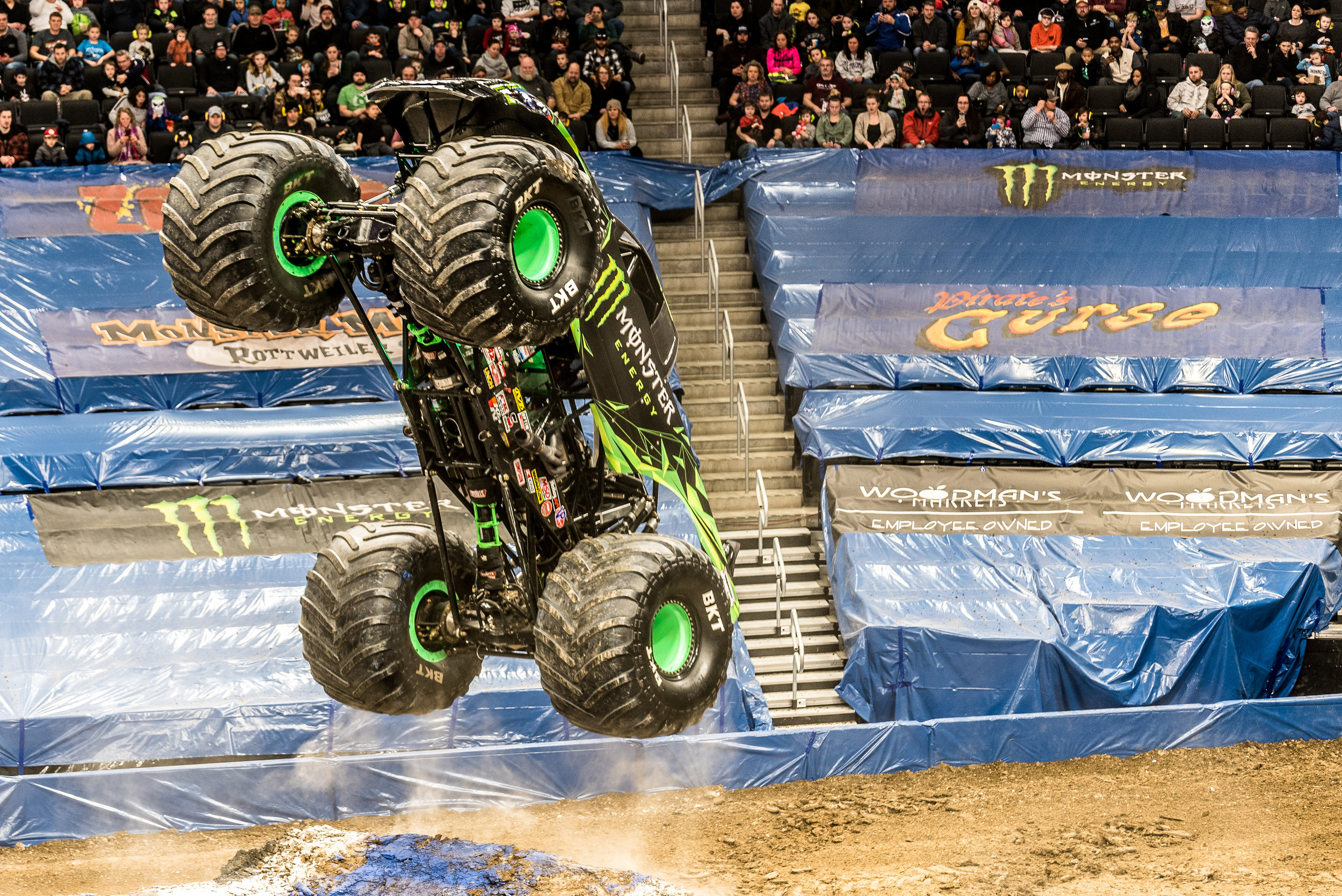 Milwaukee Bucks, Monster Jam @ Fiserv Forum