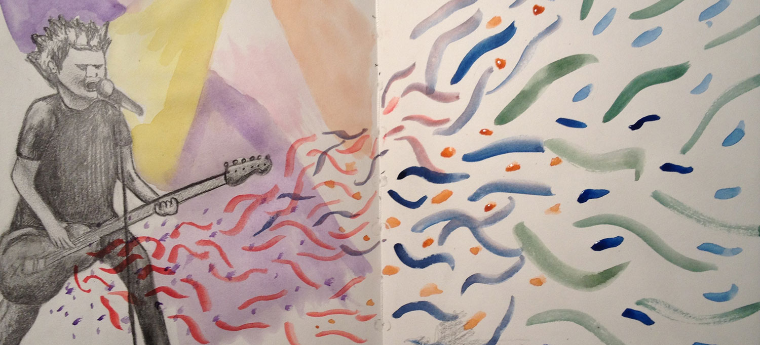 Diving into those old sketchbooks may be as inspirational as they are cringeworthy