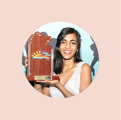 Young NT of the year - Pritika Desai, Keynote Speaker