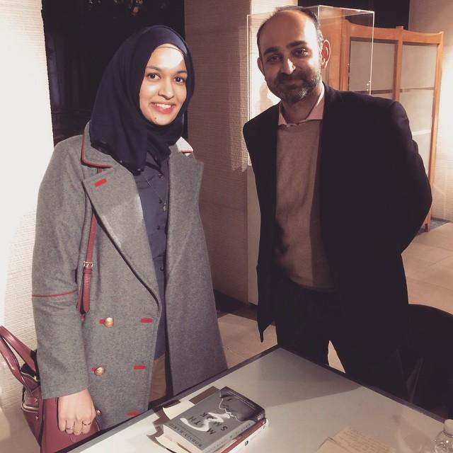 Book signing w/ Mohsin Hamid