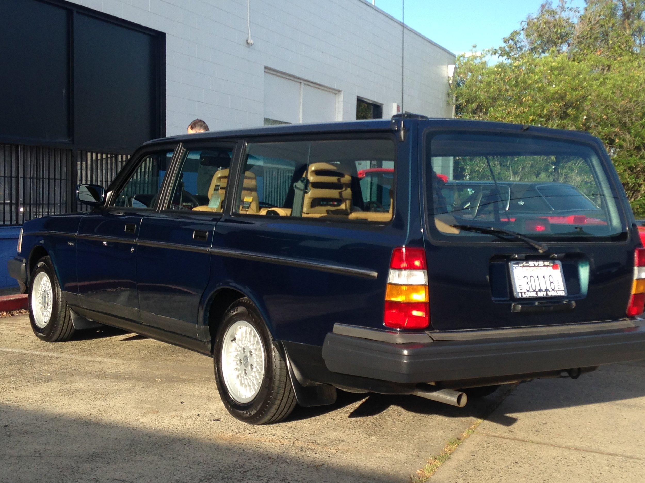 1993 Limited Edition 240 Wagon, #1598/1600