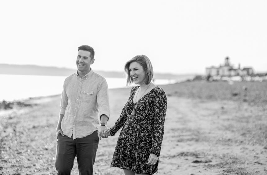 Kelly + Patrick Seattle Engagement