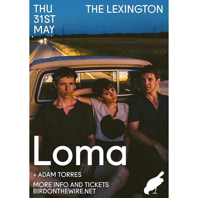 Can't wait to be opening for the immensely talented @lomatheband !  London — tickets for our show at @thelexingtonlondon on sale now (link in profile) ✌️