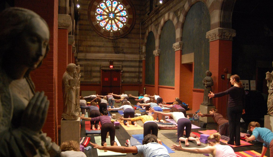 Art & Yoga at Fleisher