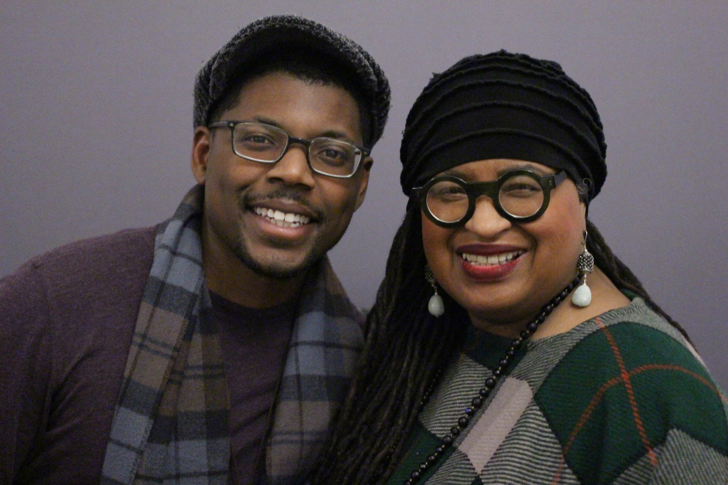 Justin Williams of StoryCorps & Detroit writer Marsha Music