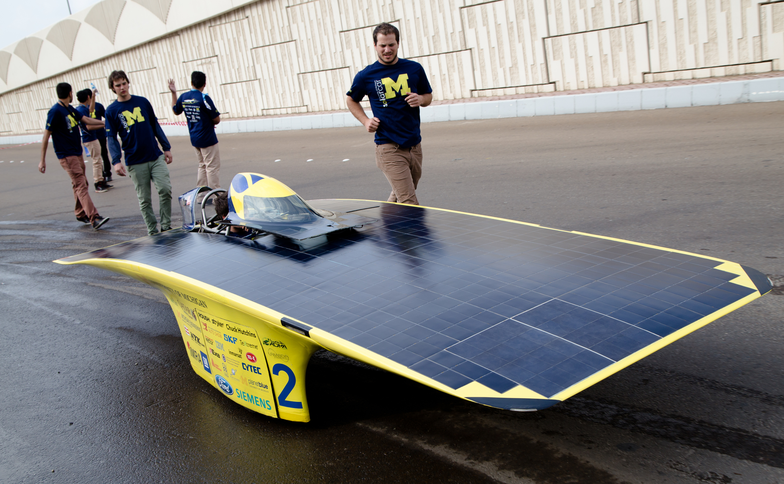 USA Today | Race to Abu Dhabi pays off for Michigan solar car team