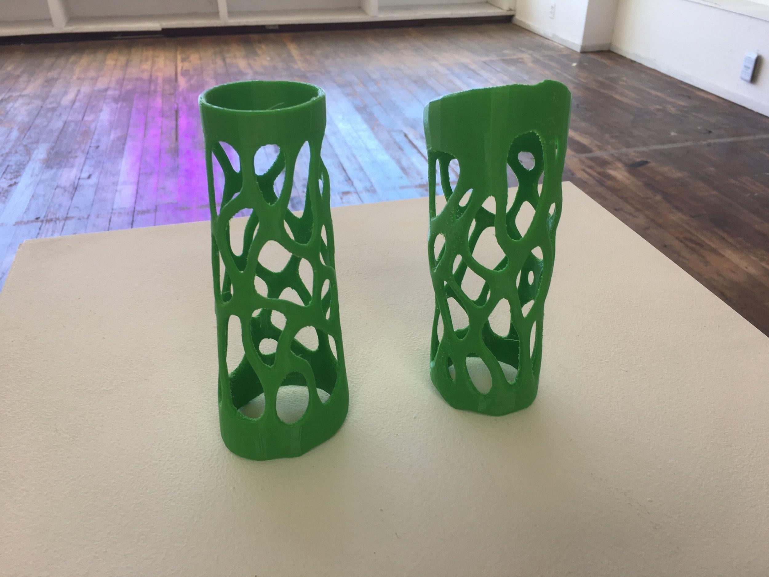 3D Printed arm pieces, Tiare Ribeaux, 2018