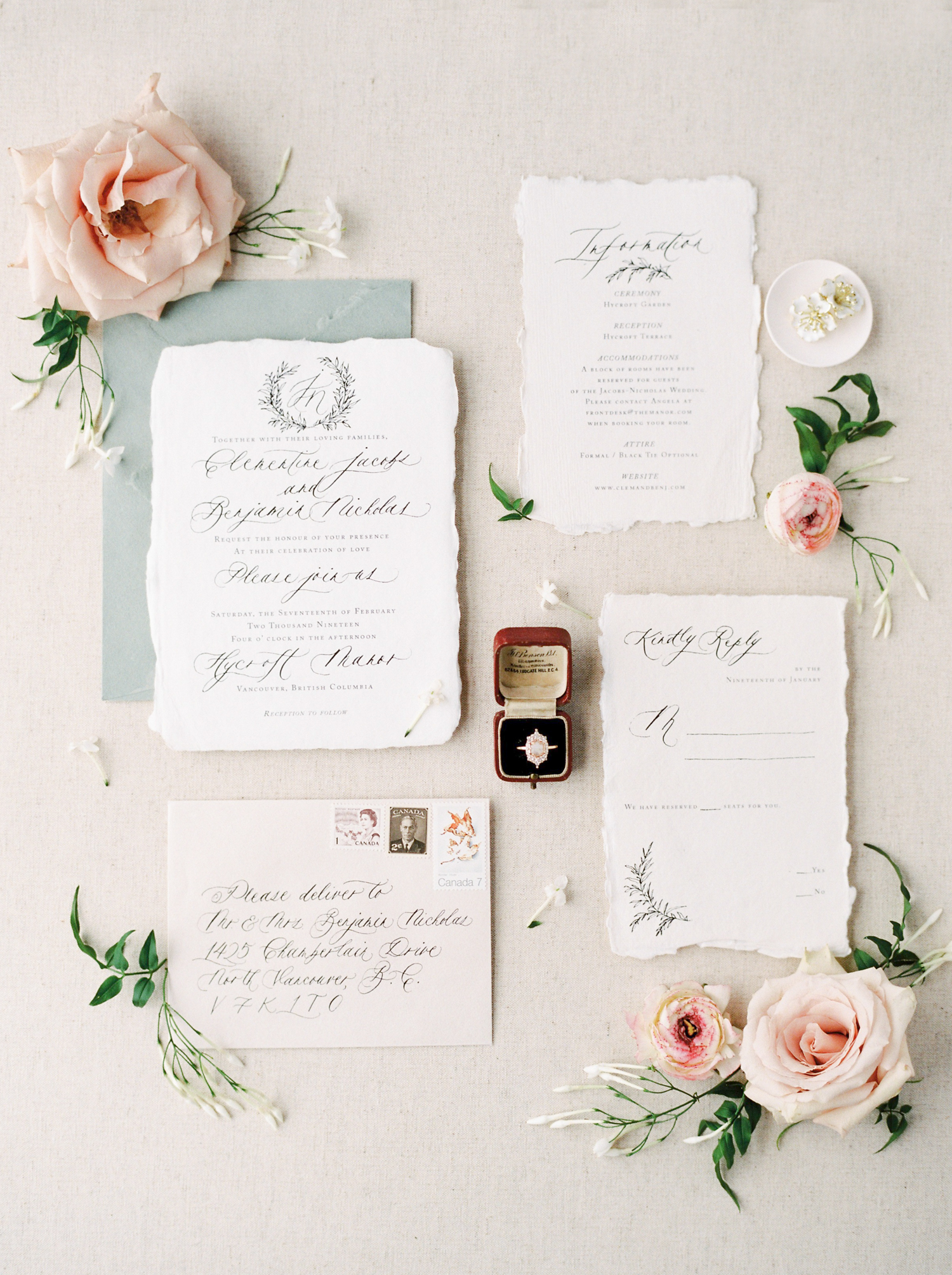Invitation Suite | Teryn Lee Photography