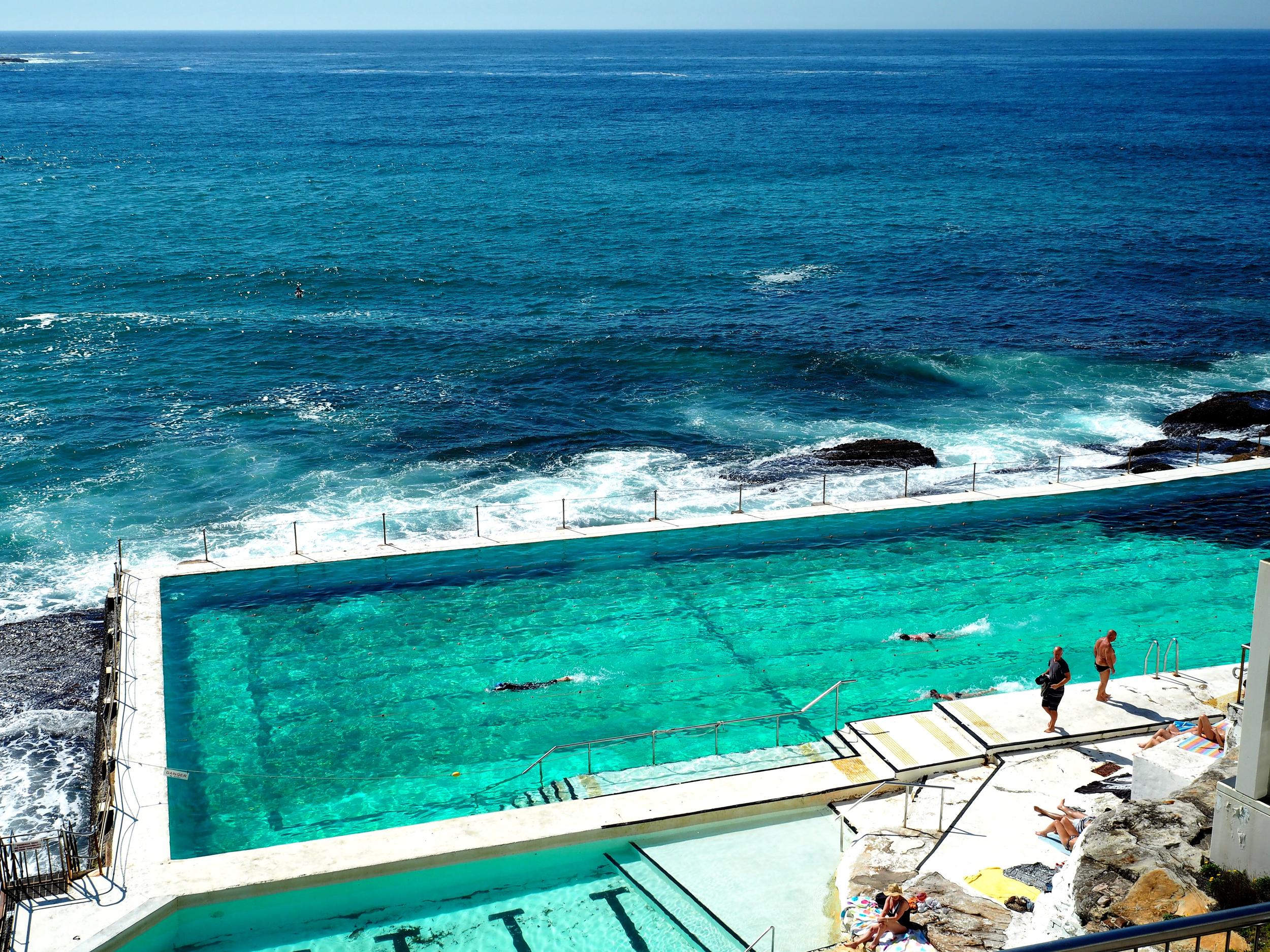 Icebergs Swimming Pool - Bondi Beach - Sydney - Australia
