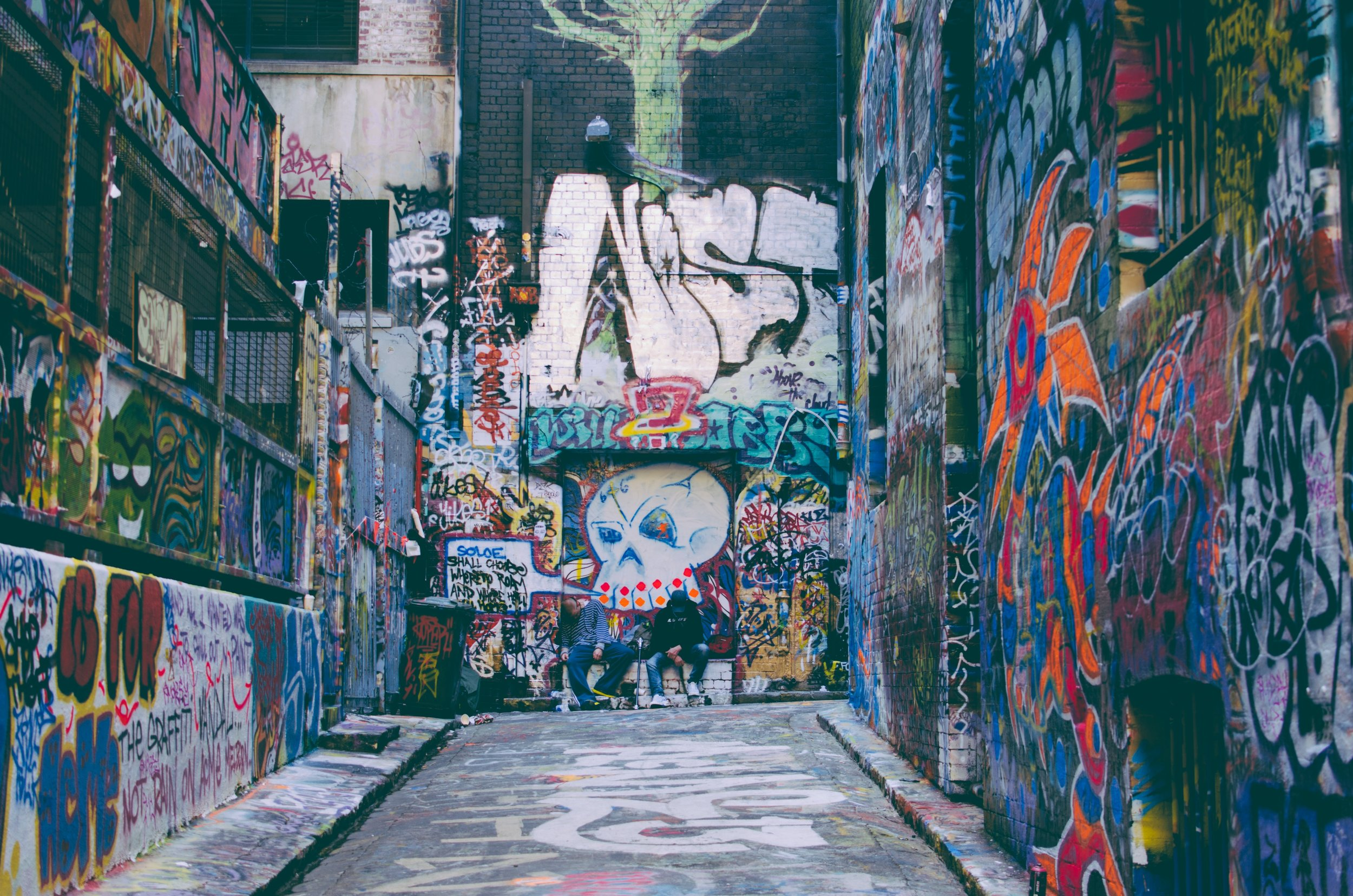 Melbourne's street art in the lane-ways