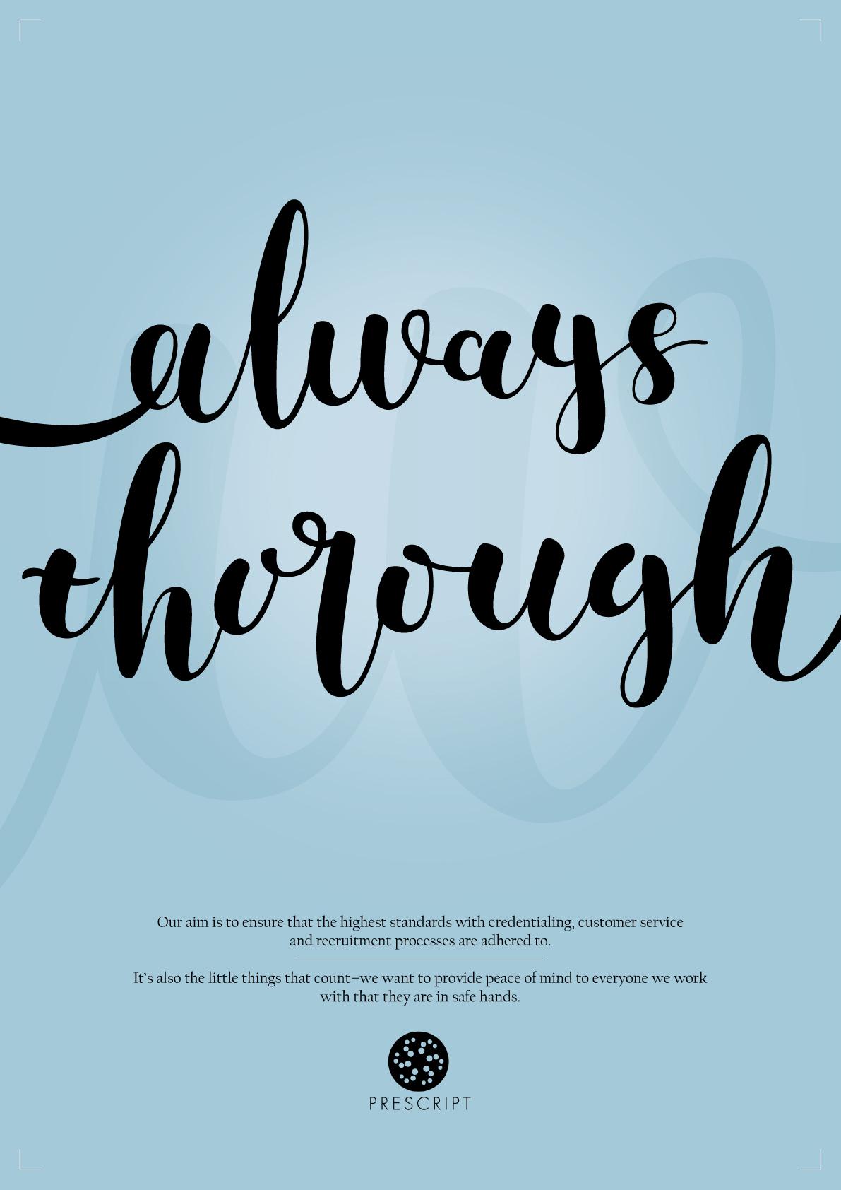 Always Thorough