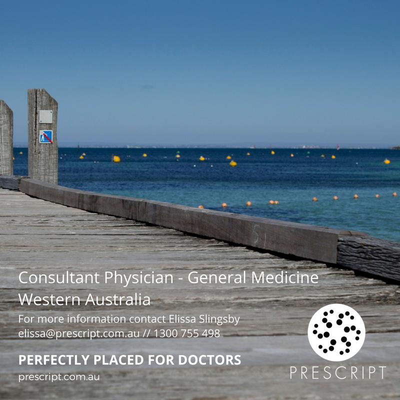 WA Consultant Physician Job