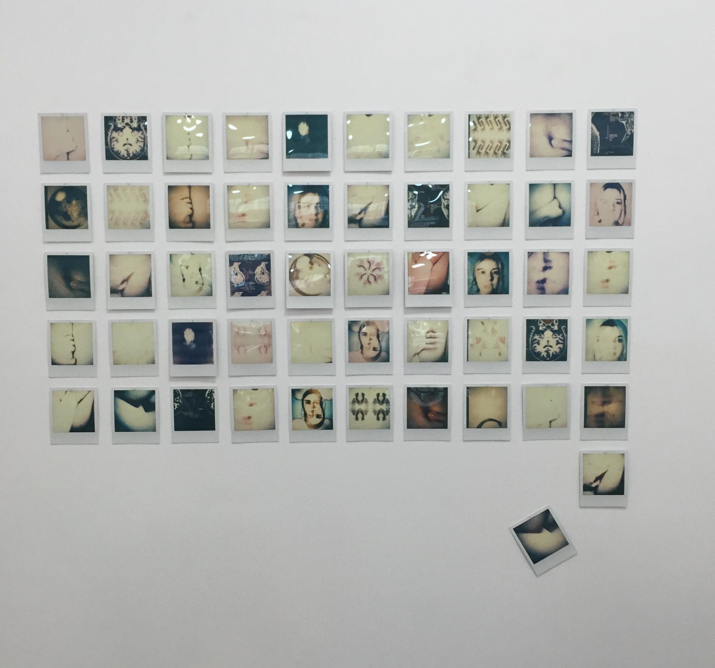 Clare and Maisie polaroids.JPG