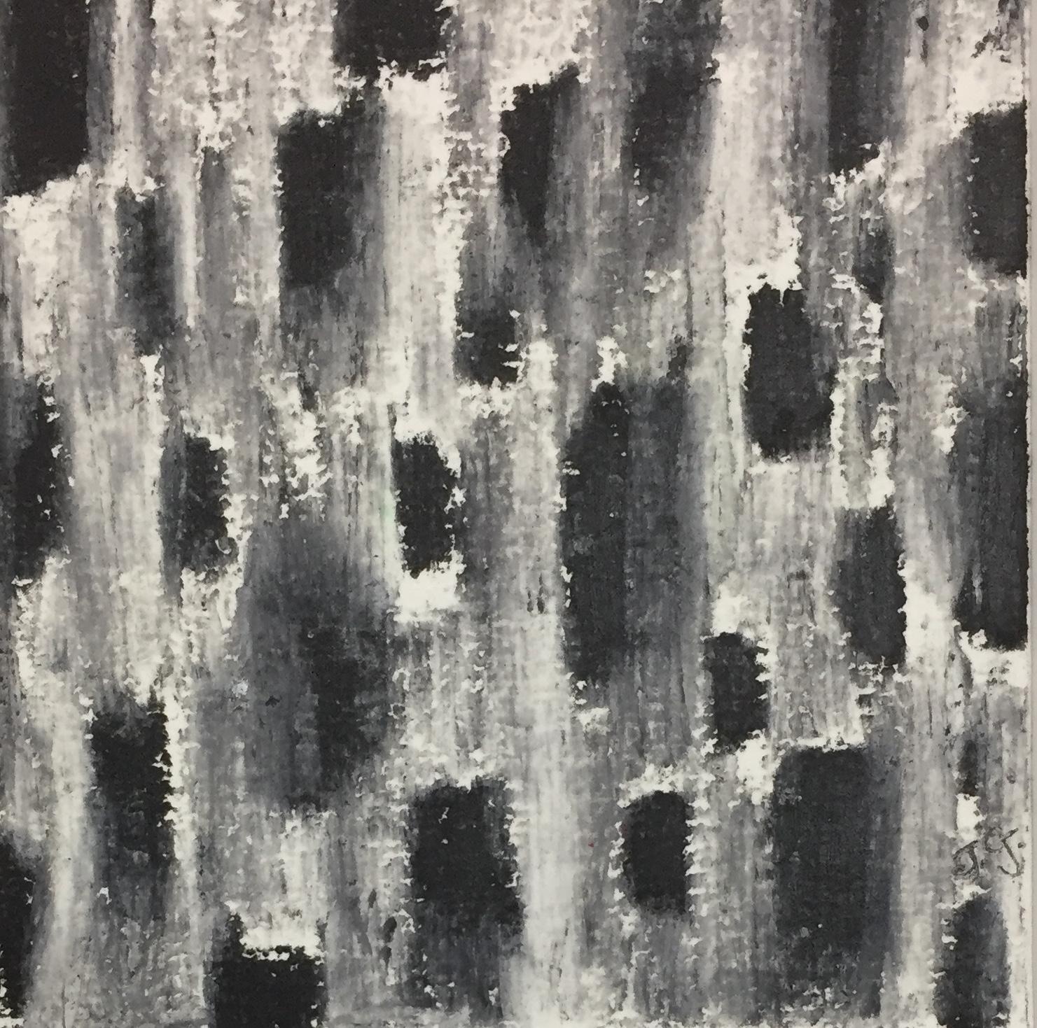 Janelle Goldman_Black and White_oil pastel.JPG