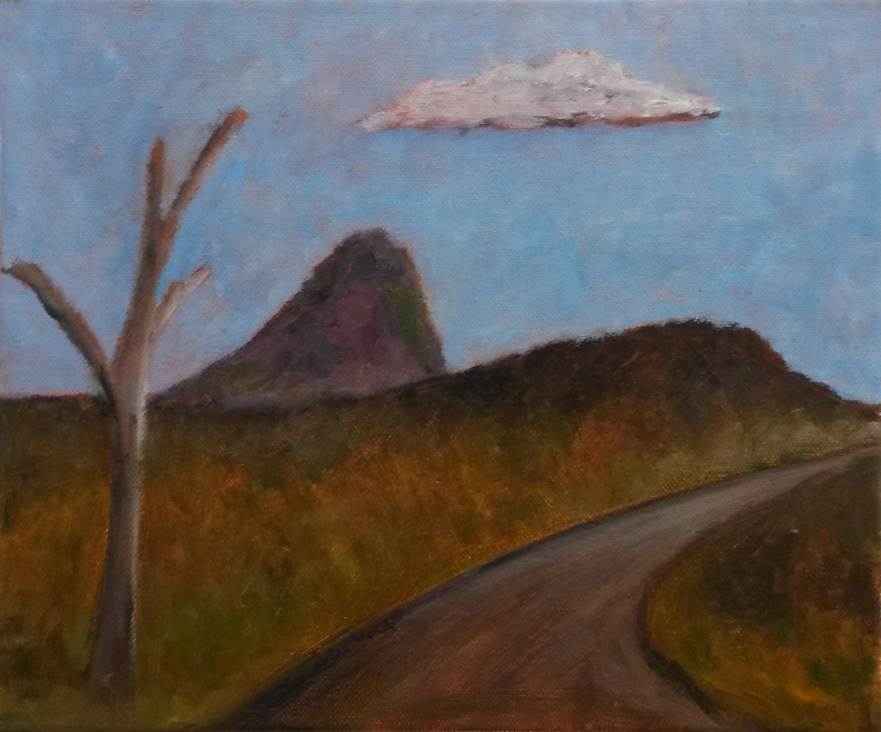 Malcolm Sands Bylong Valley Way Size: 30.5 x 25.5cm medium: Oil on Canvas Price: $220.00.jpg