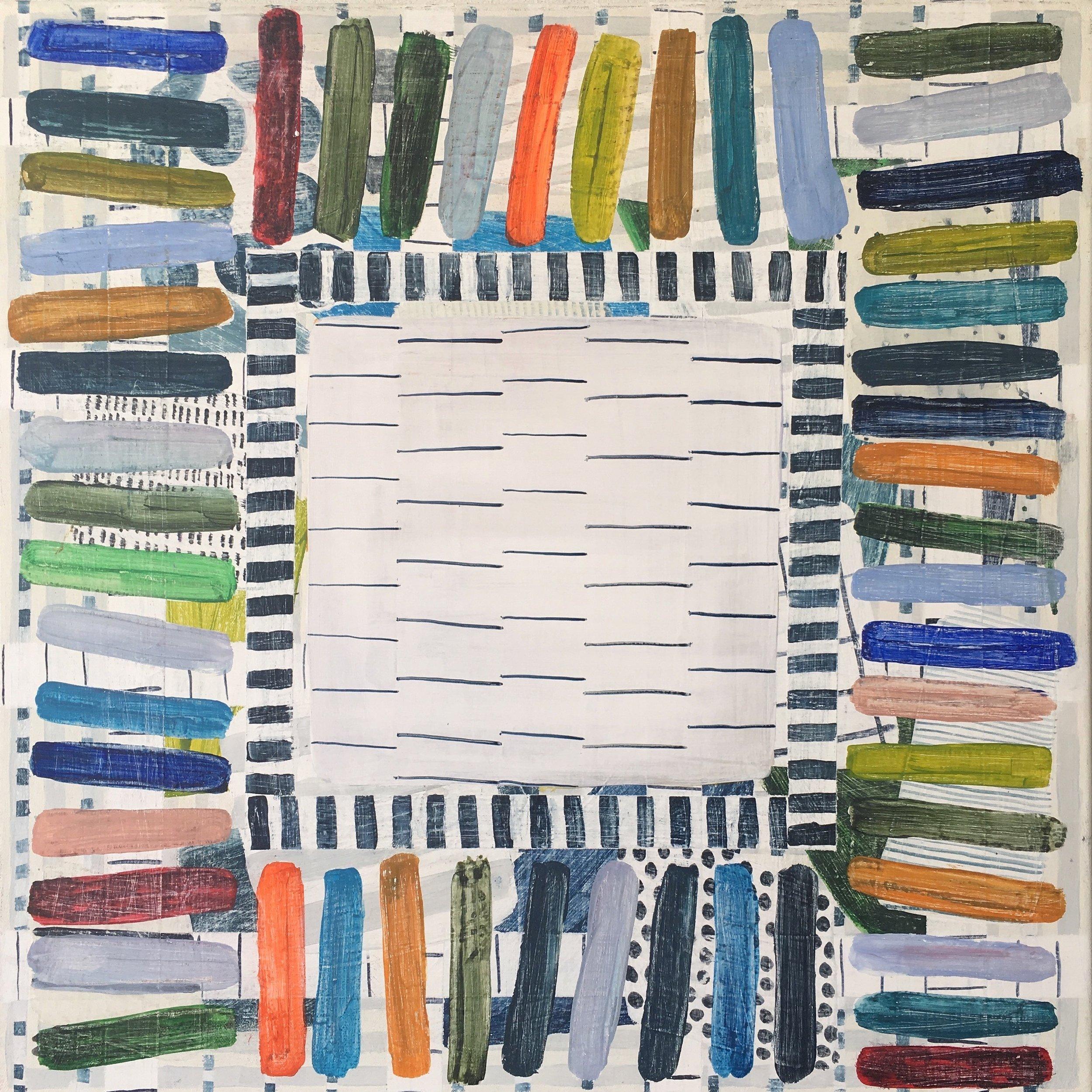 Julia Flanaghan Acrylic on canvas, 50 x 50cm 2017  $740 .JPG