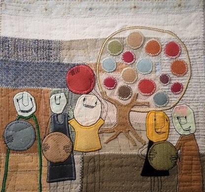 Olivia Parsonage_Fruit finding mission_2017_fabric illustraion.21.5x23cm.jpg