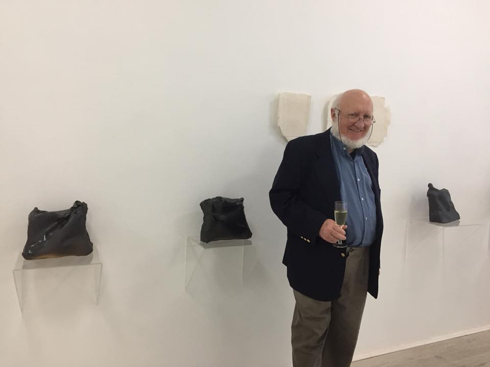 John Heaney in Gallery 139, May 2018