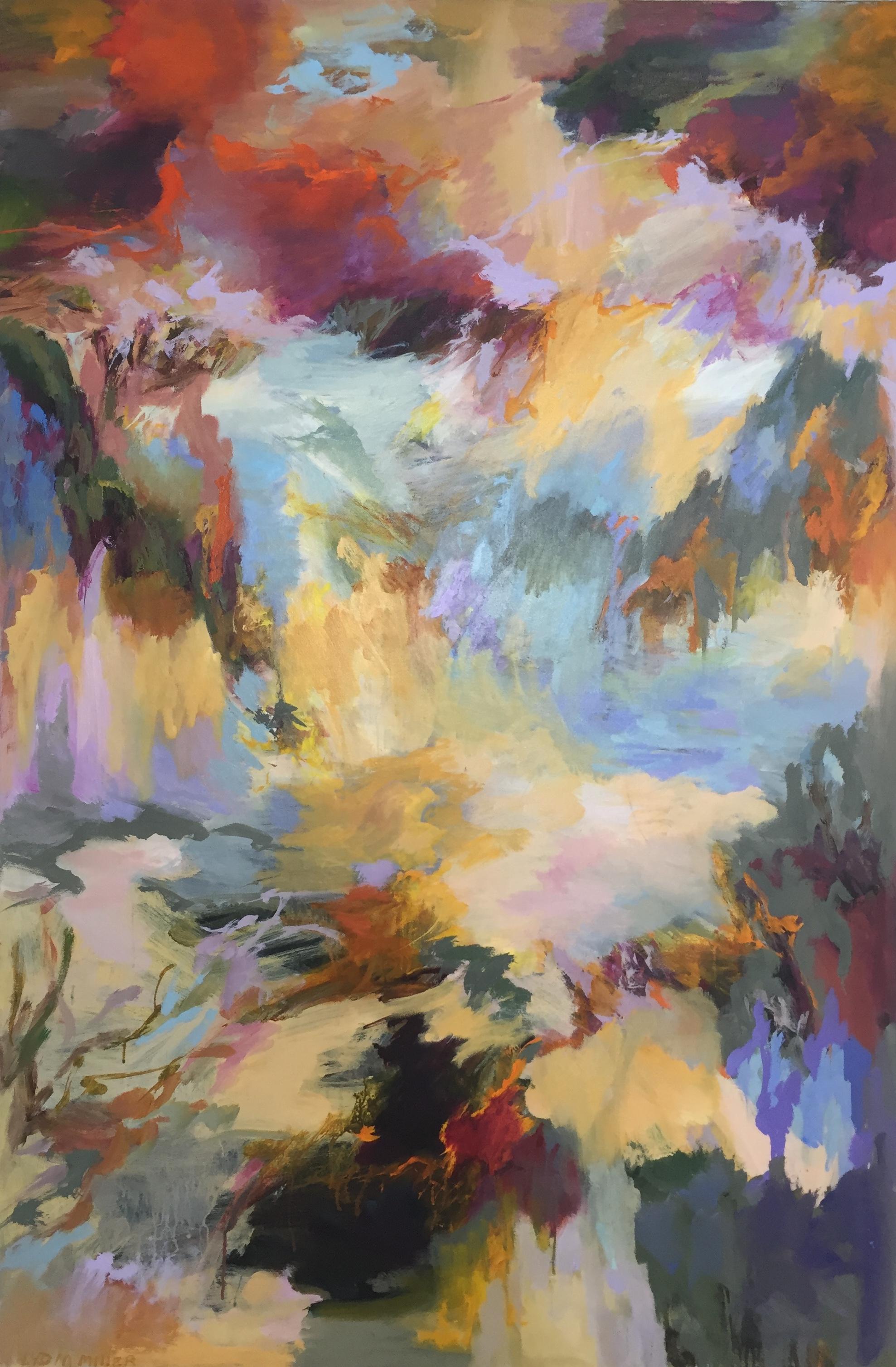 Lydia Miller  Vivre  2018 oil on canvas 152 x 102cm $4500.00