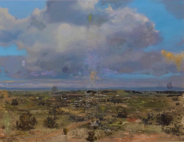 John Earle  Hunter Valley  2019 oil on board 57 x 73cm $1850.00