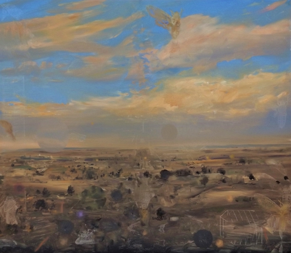 John Earle Golden Plains 2019 oil on board 60 x 70cm $1850.00