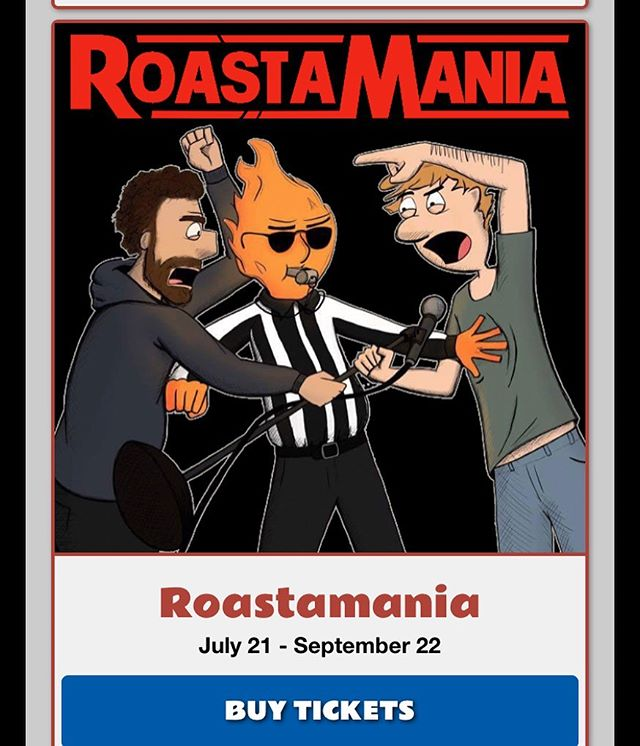 Casey and Josh will both be at @spokanecomedy #RoastAMania Get ahold of either of them, or message the podcast if you want comp tickets. We hope to see you there! Show starts at 7:30