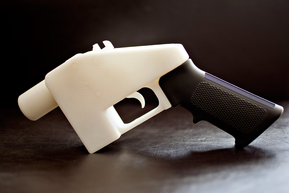 Liberator' gun, 2013, by Cody Wilson / Defence Distributed. Photo: Victoria and Albert Museum, London.