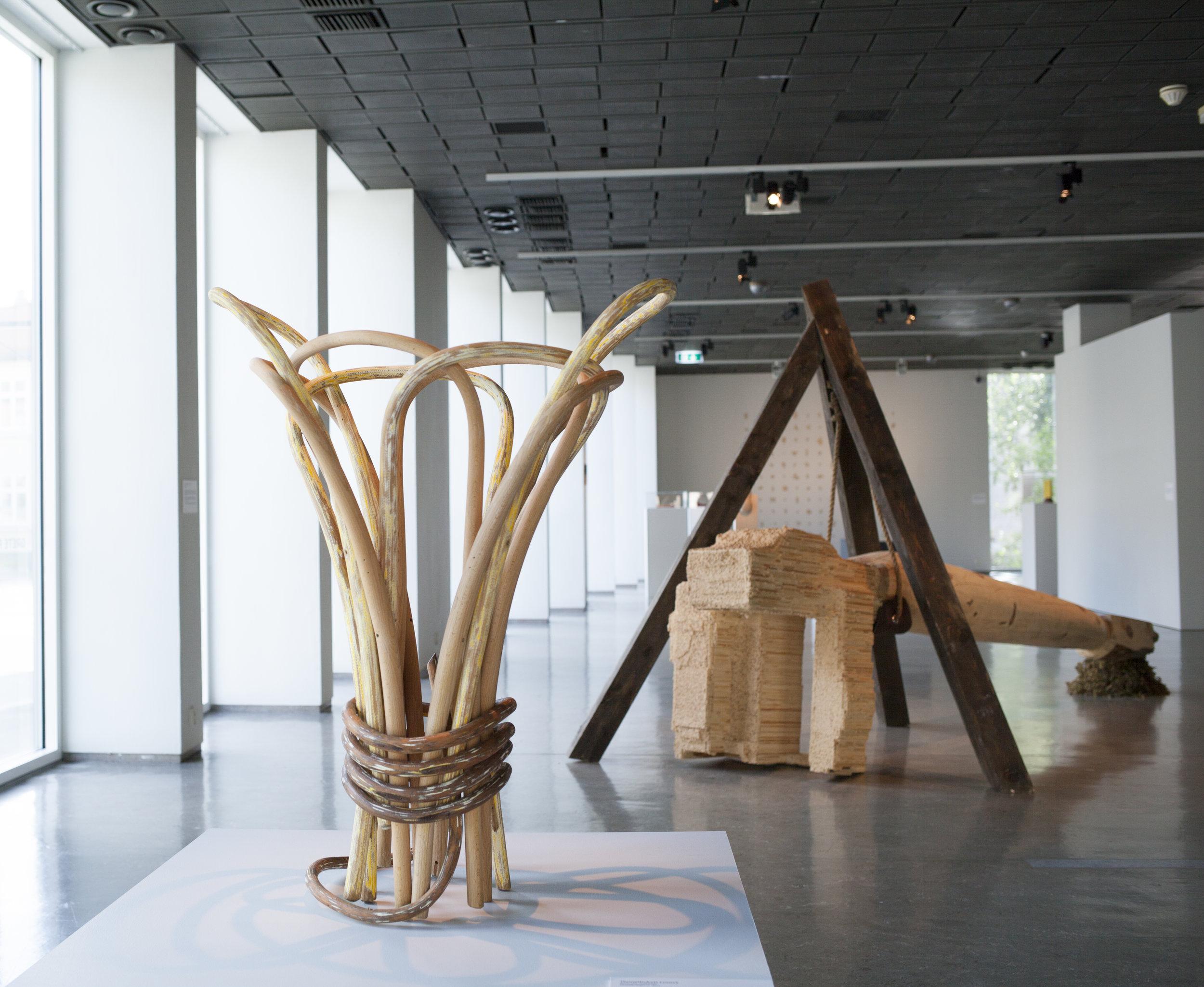 Elisabeth Engen, Thonetbukett . Foto: Nordenfjeldske Kunstindustrimuseum