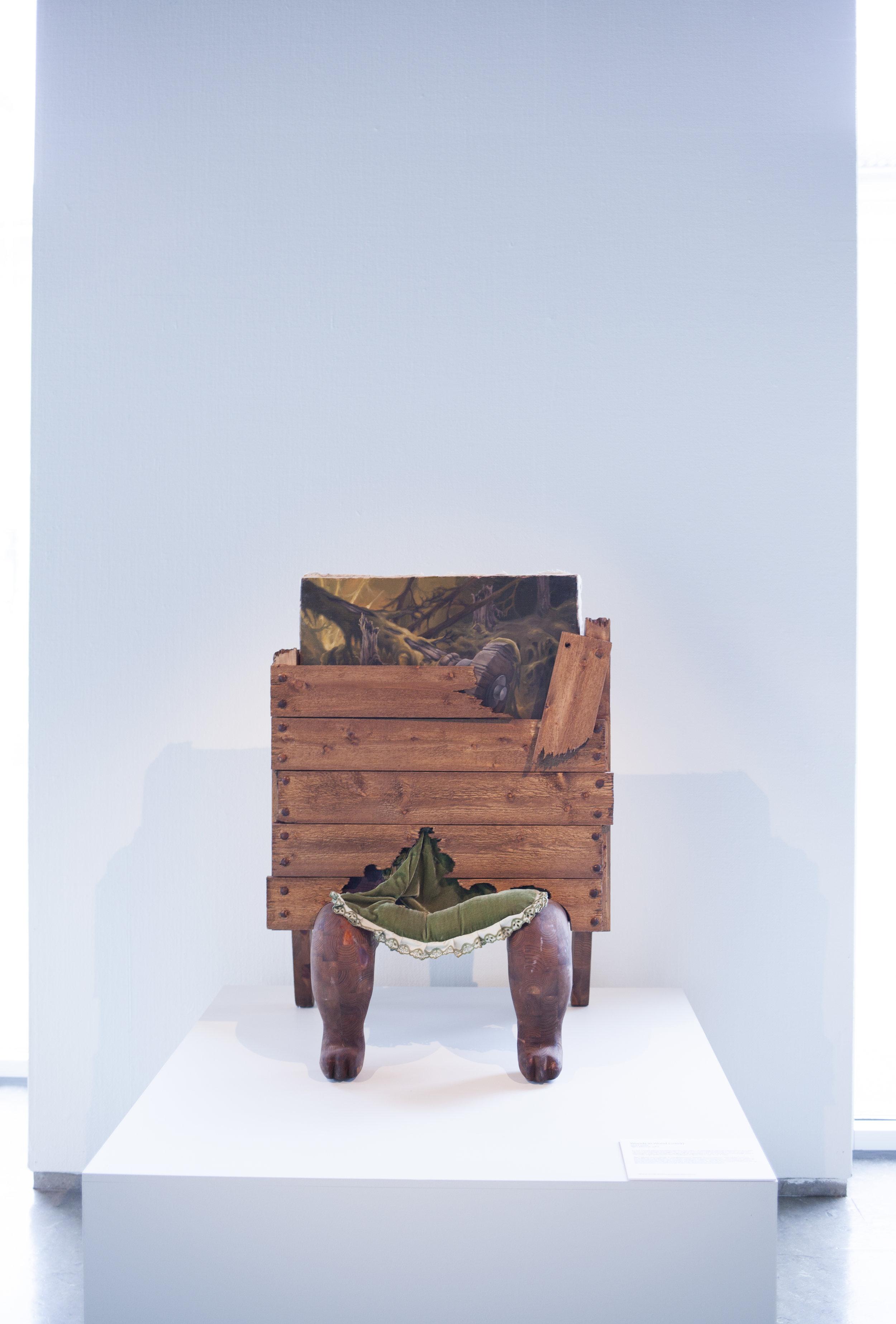 Bjørn Båsen, Woods in Wood . Foto: Nordenfjeldske Kunstindustrimuseum