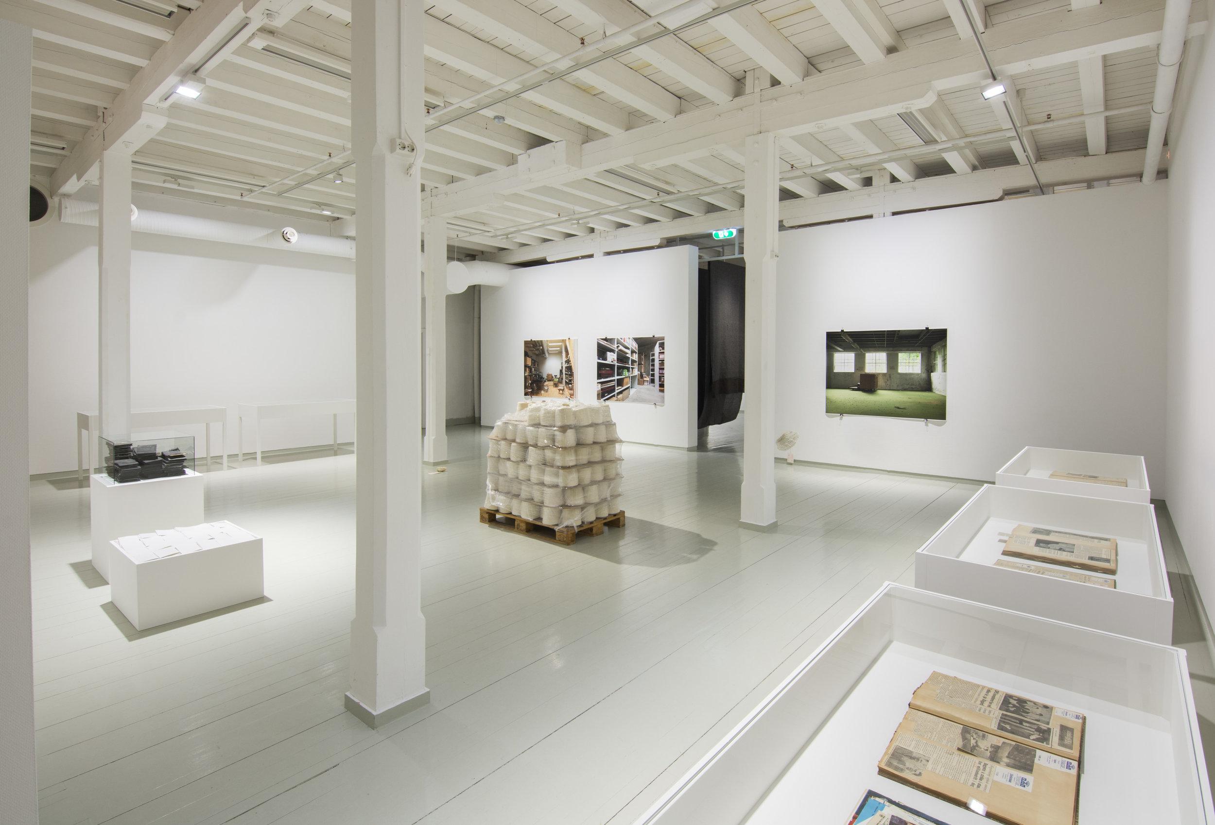 Installasjonsfoto av Aktiv Materie. Foto: Harald Solberg