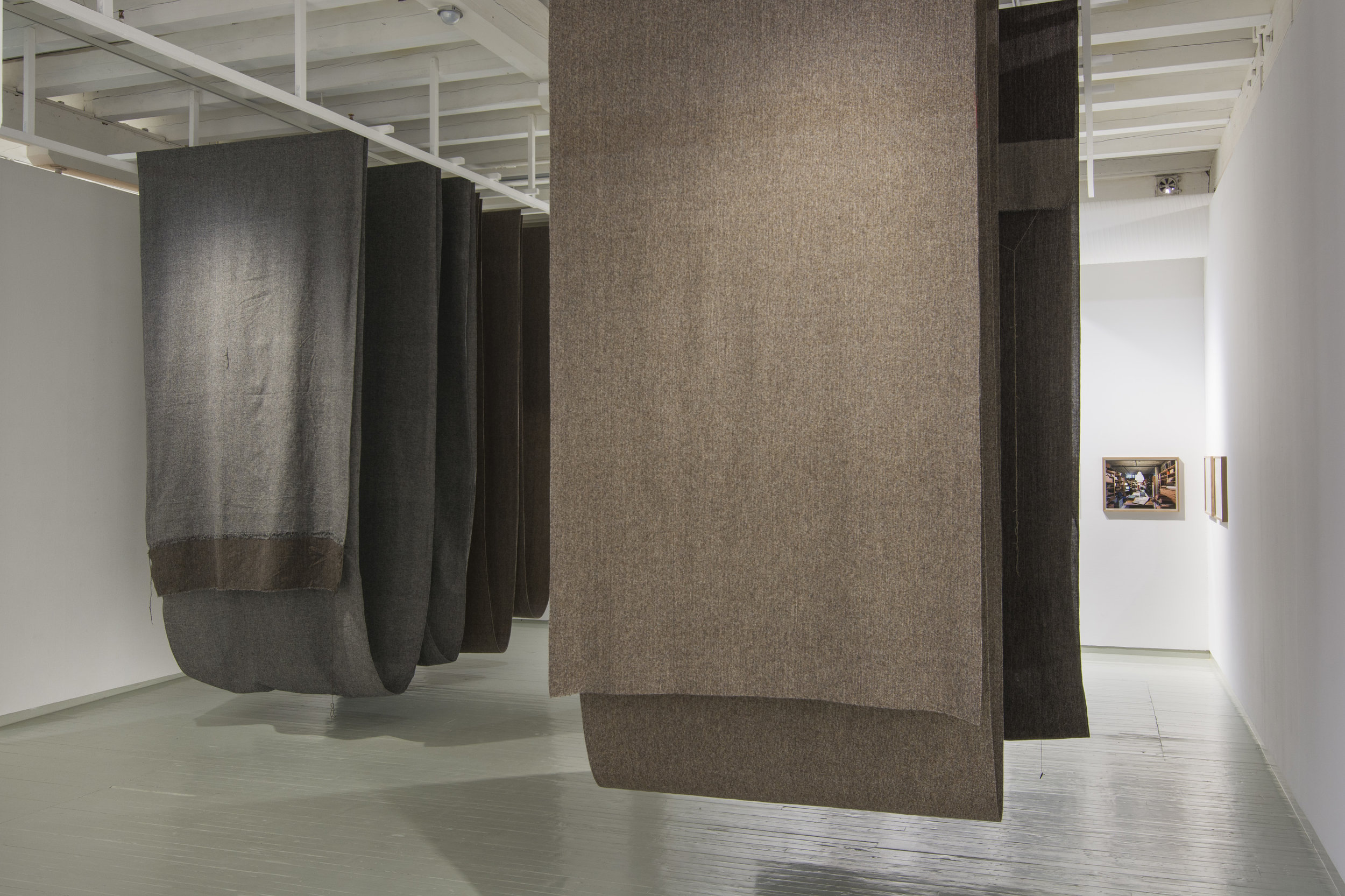 Franz Schmidts arbeider i utstillingen Aktiv Materie. Foto: Harald Solberg