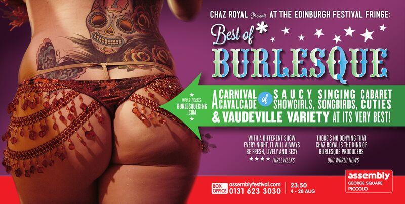 "Chaz Royal's ""Best of Burlesque"" 2016"