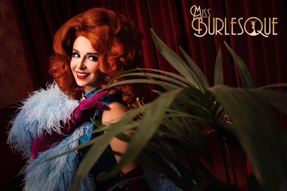 Press image for Miss Burlesque Victoria 2018