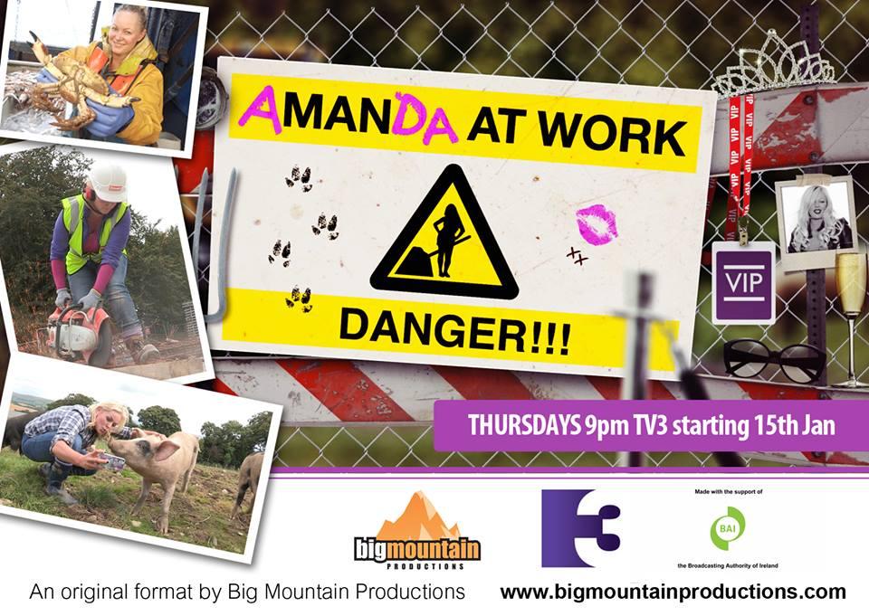 Danger! Amanda at work