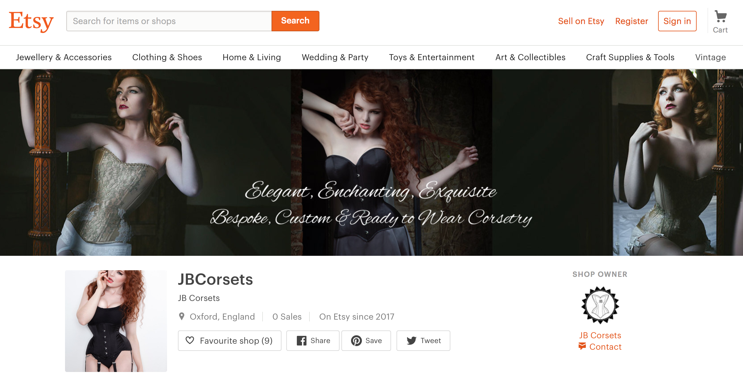 JBCorsets on Etsy