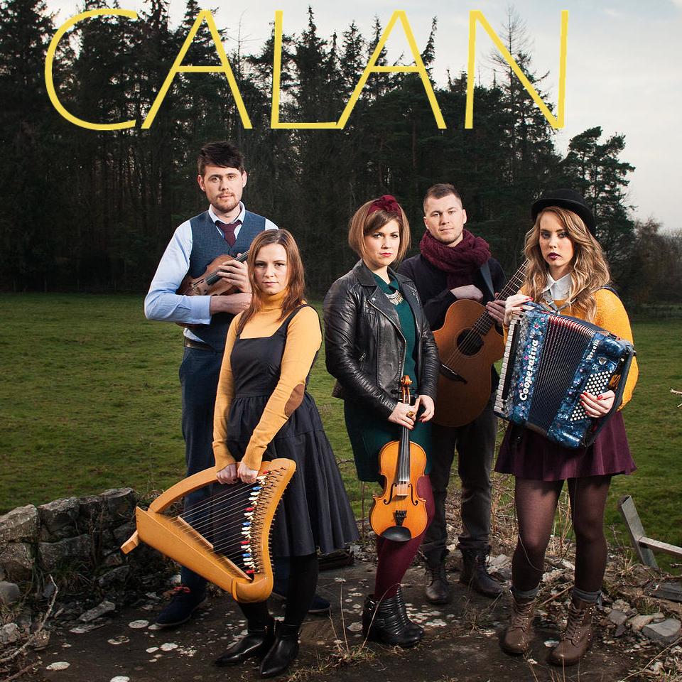 Calan headlining at the Gower Folk Festival/Photograph © Calan