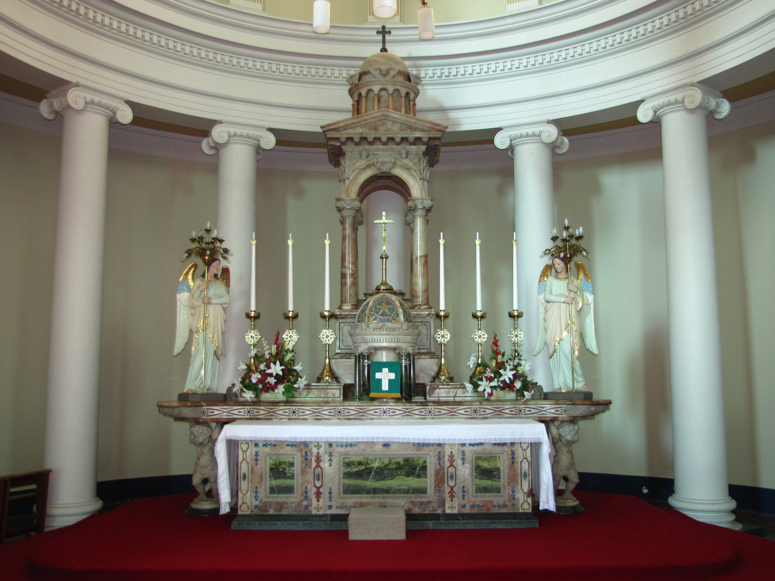 The High Altar installed in 1912