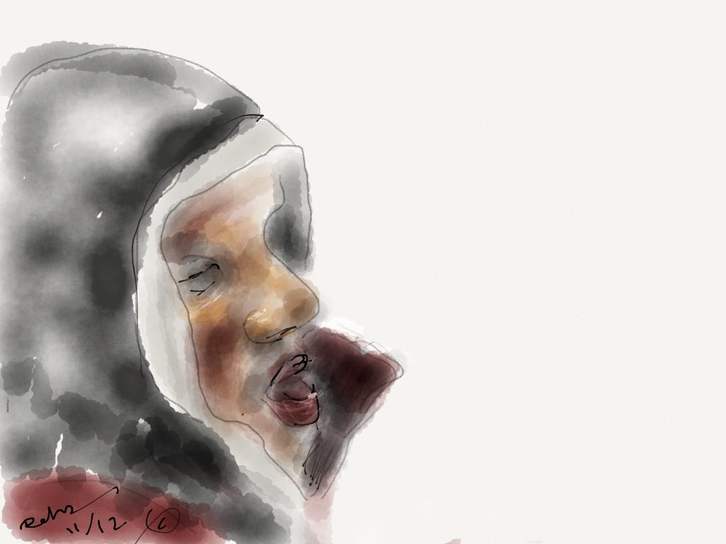 Metro Portrait: Hoodie I