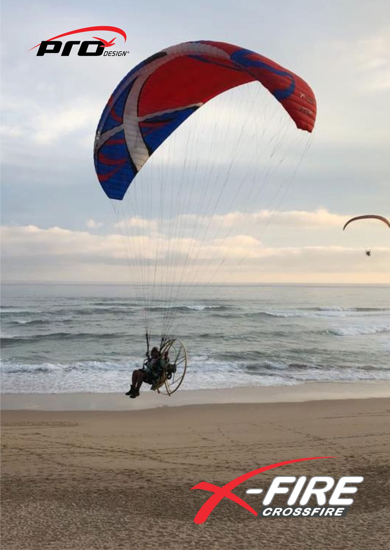 Pro Design X-Fire PPG wing — Skywalk Paragliding School