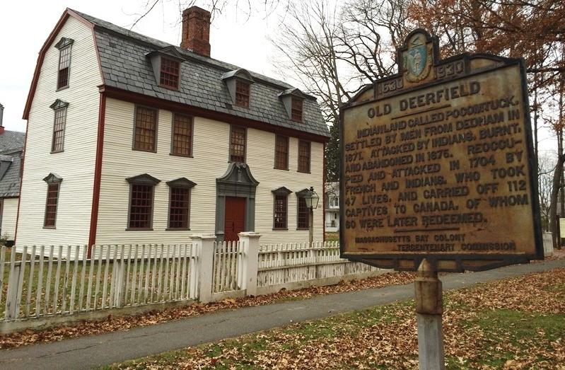 Dwight House in Historic Deefield