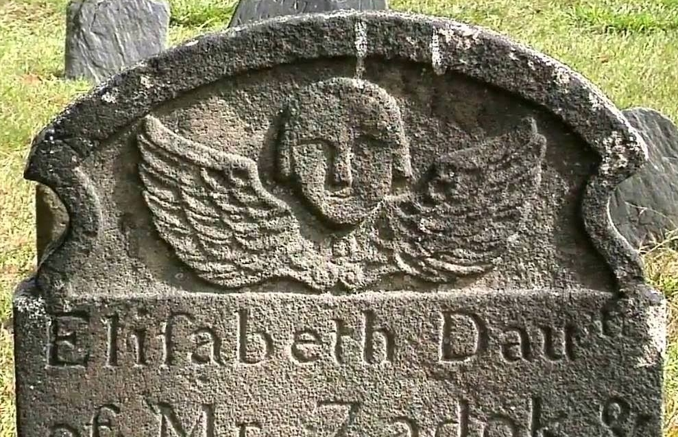 Headstone from the Old Burying Ground