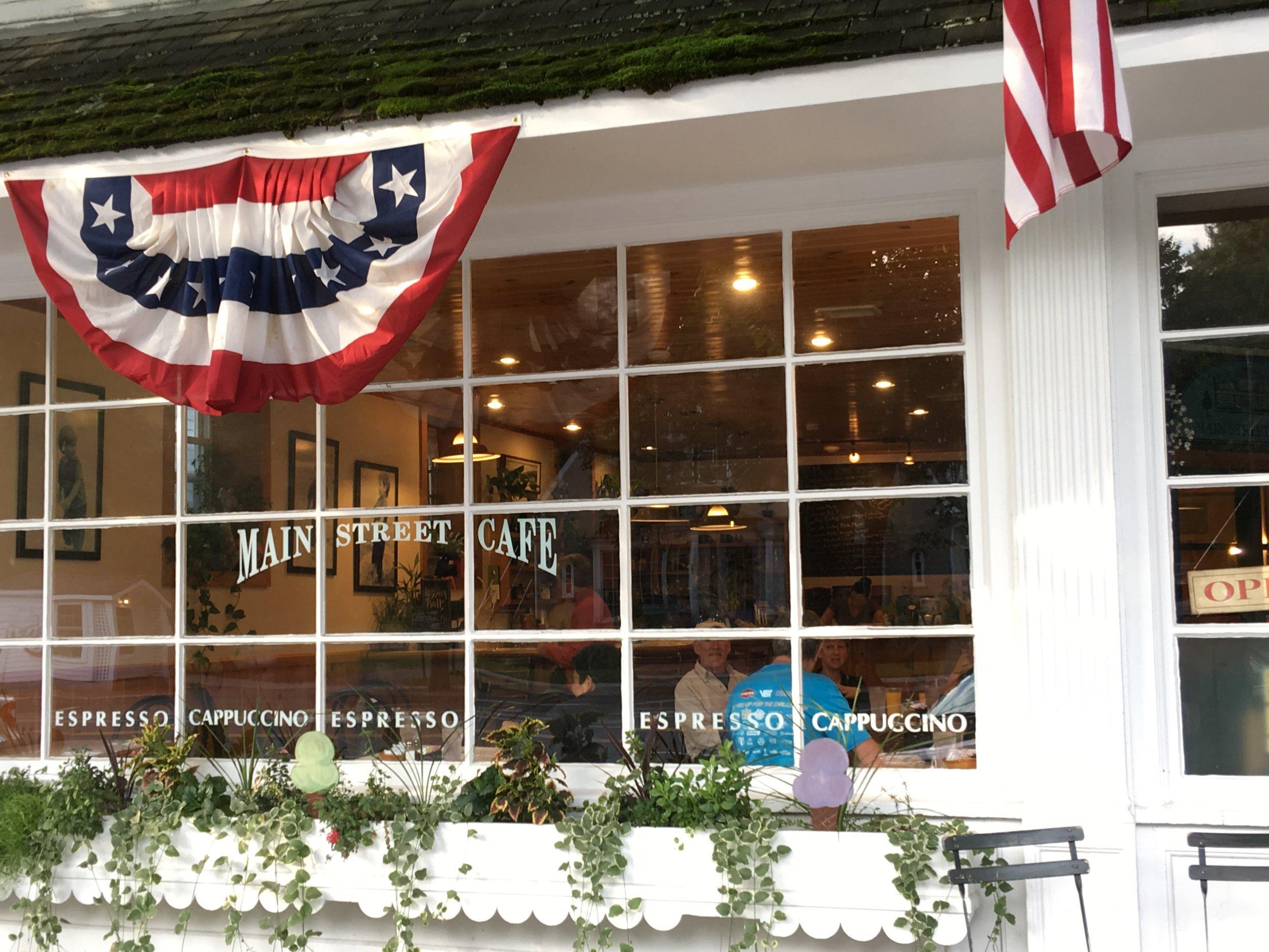 Main St. Cafe in Stockbridge, MA